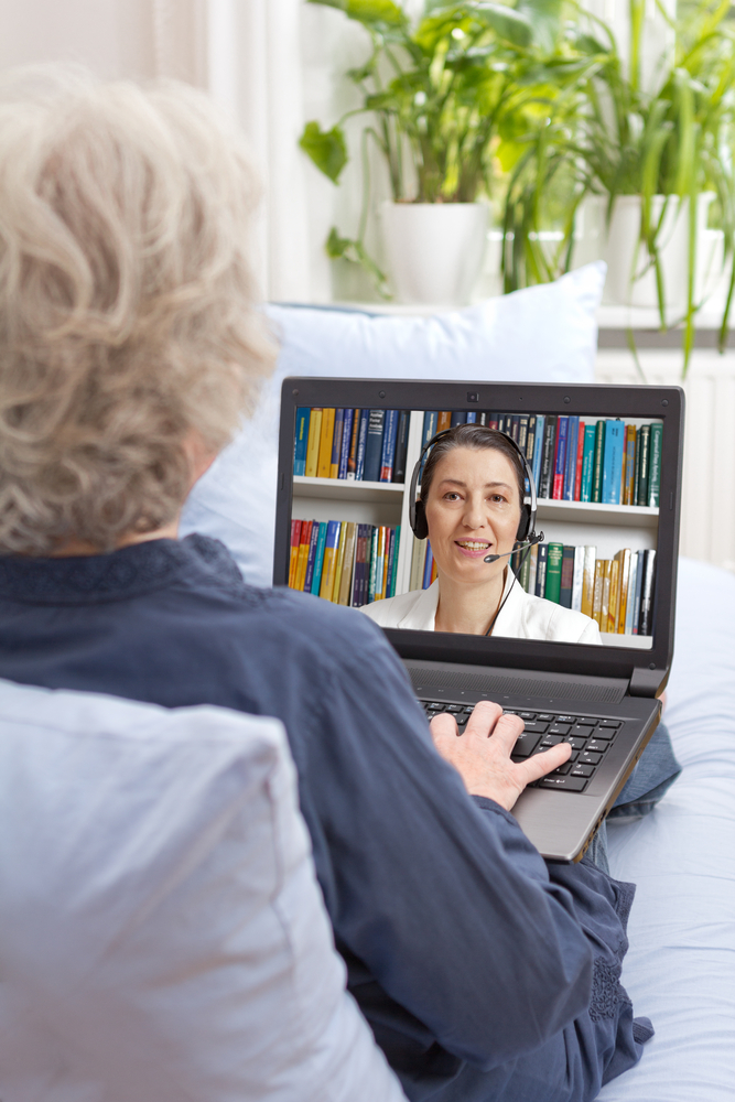 Online counselling session